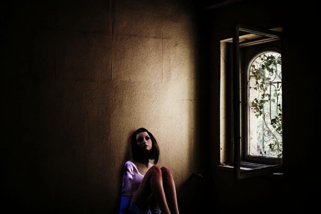 Une fille perdue dans ses penées