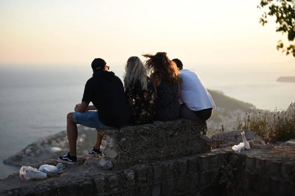 Un groupe d'amis