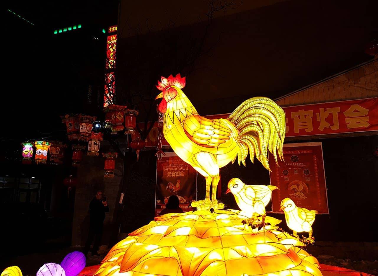 Le Coq dans la tradition du Nouvel An chinois
