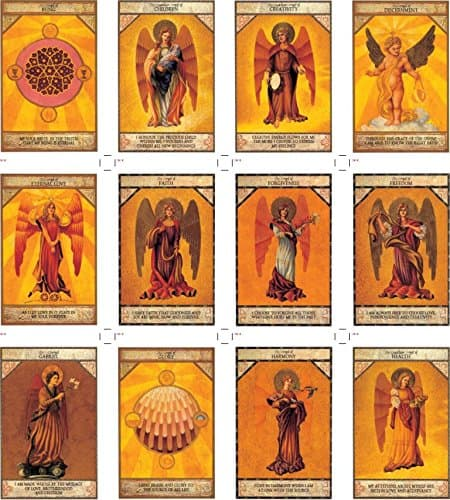 Les cartes de l'oracle des Anges
