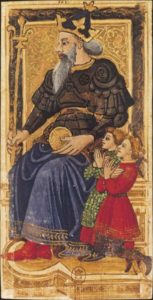La carte de l'Empereur dessinée par Charles VI