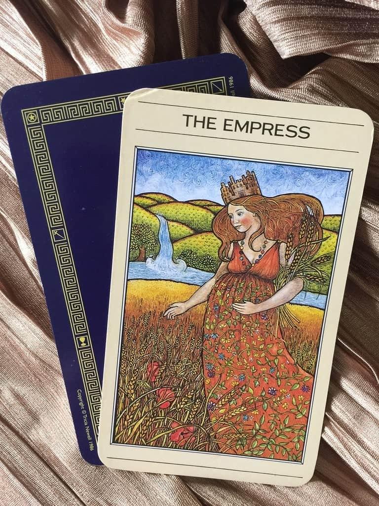 La carte de l'Impératrice