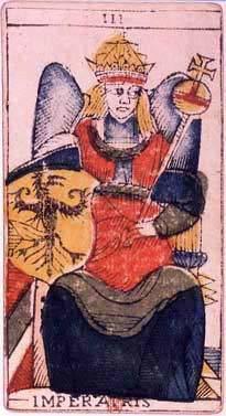 La carte de l'Impératrice dessinée par Jean Dodal