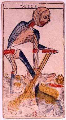 La carte de la Mort dessinée par Jean Dodal