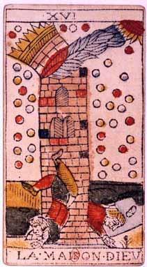 La carte de la Maison Dieu dessinée par Jean Dodal