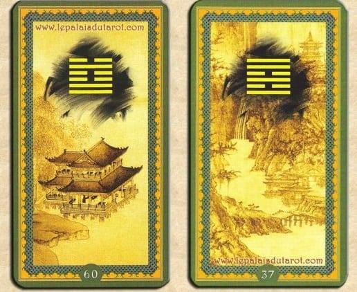 Les cartes de l'oracle chinois